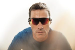 Craig Alexander con gli occhiali Oakley Radar Pace