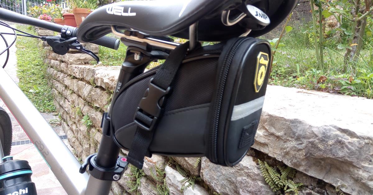 Sacca Da Sella Bici Da Corsa Sotto Sella Posteriore Per Bicicletta